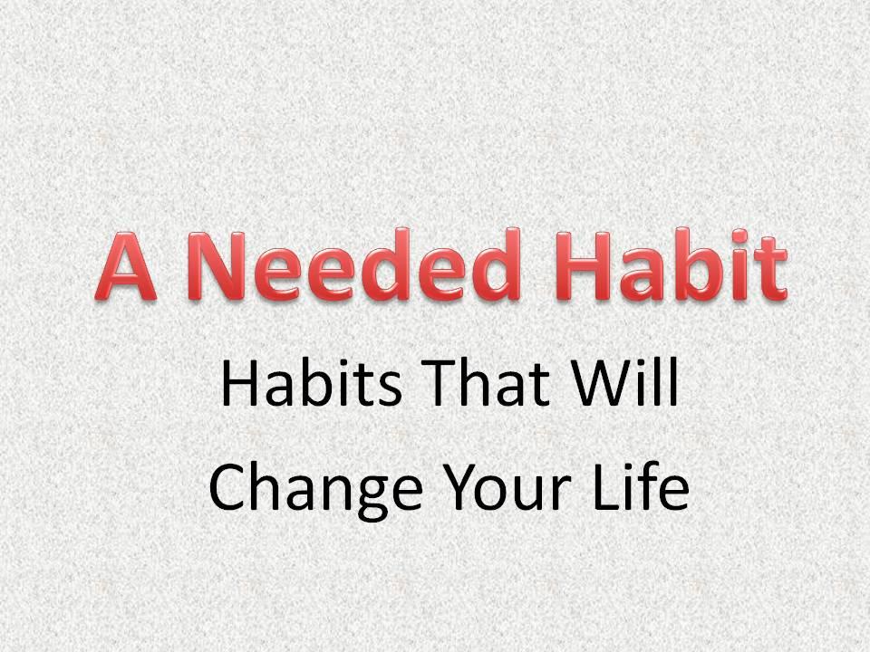 Habits Series